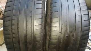 彰化員林 中古輪胎 二手輪胎 245 40 18 米其林 實體店面免費安裝