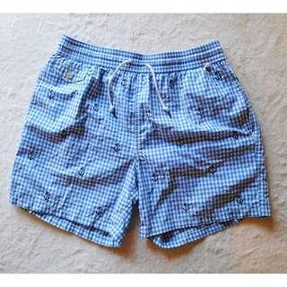 Ralph Lauren Polo Check Anchor Swim Shorts/Boardies