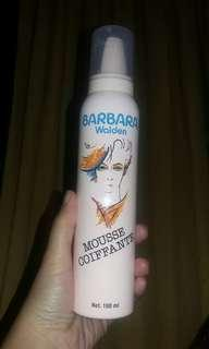 Hair styling Mousse coiffante