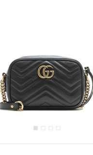 Gucci Marmont metalassé mini bag