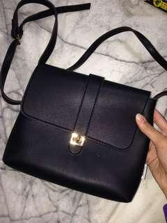 MINISO Black Shoulder Bag