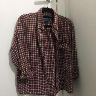 Vintage Ralph Lauren Red Polo / Flannel