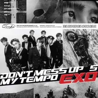 [UPDATED!] PREORDER EXO DONT MESS UP MY TEMPO