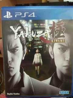 PS4 Games Yakuza Kiwami
