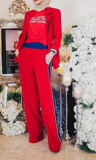 ZARA red trouser (inspired)