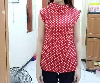Red polkadot