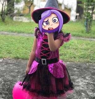 Holloween witch costume