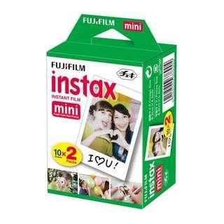 fujifilm instax mini film plain.
