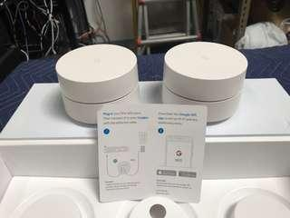 Google WiFi AC1200 Mesh Wireless Router Dual Band,  1200Mbps, 2.4/5GHz, a/b/g/n/ac