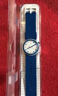 Swatch Watch Dark Blue