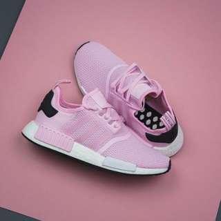 "英國代購* Adidas WMNS NMD R1 ""Pink/White"""