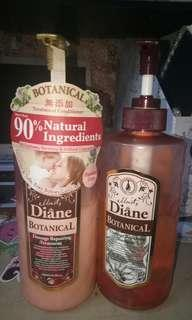 moist,diane shampoo n treatment