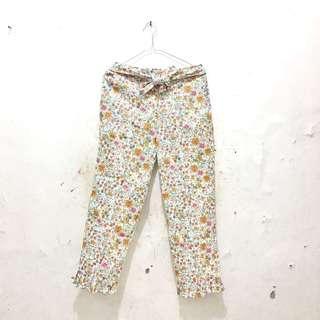 NEW Celana motif bunga / flower pants