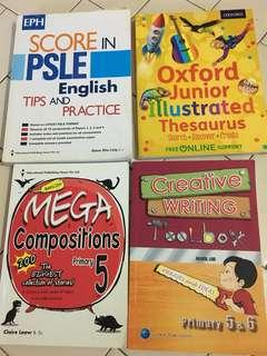 PLSE English , P5 Composer and Creative Writing & Oxford Thesaurus
