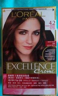 Loreal Excellence Creme (4.2 Pearly Brown)
