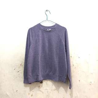 Top / atasan / sweater biru H&M divided