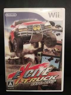Wii game - Excite truck