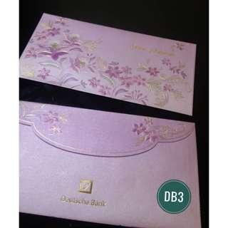 DB3 - 2013 Deutsche Bank Sampul Raya /Angpow packet