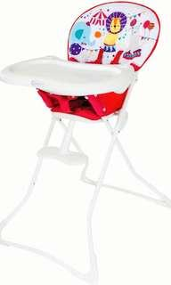 Graco high chair tea time circus