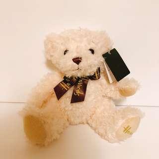 🚚 🇬🇧帶回 英國老字號百貨 泰迪熊 少見白色泰迪熊