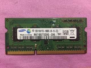 Samsung DDR3 2GB 10600