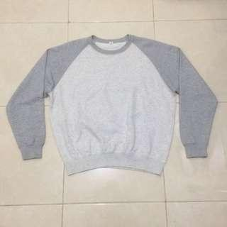 Uniqlo Two Tone Crewneck Sweatshirt
