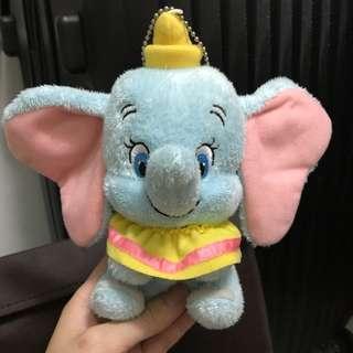 東京迪士尼 disney 小飛象 dumbo 匙扣 扣針 公仔