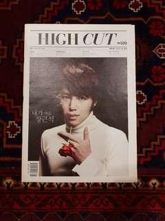 HIGH CUT Korea Vol. 68 Jang Geun Suk Cover (INFINITE photoshoot)