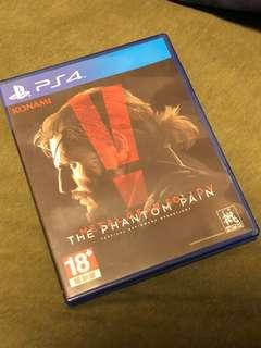 PS4 Metal Gear Solid V The Phantom Pain + Ground Zeroes BUNDLE