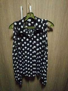 Poka Dot Blouse