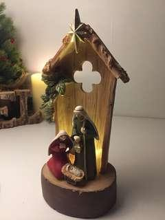 Christmas Lighted Nativities