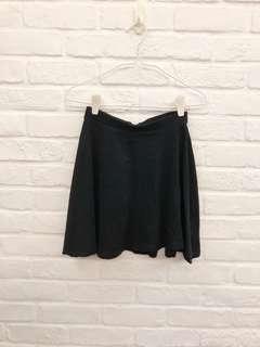 🚚 Topshop Black Skater Skirt