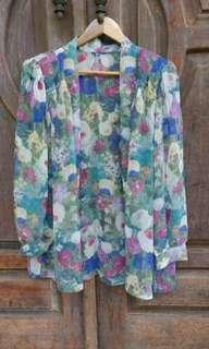 Flowery Vintage Outter