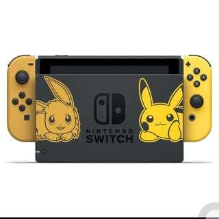 Nintendo Switch Let's Go Eevee Console Bundle (ETA: 19/11/2018)