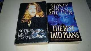 2 SIDNEY SHELDON BOOK BUKU NOVEL