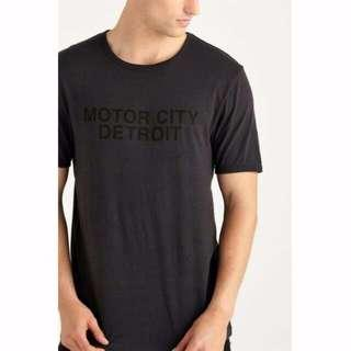 🚚 Men Wording Printed Top Tee Shirt From Cotton On