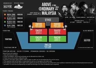 [Ticketing Service] KHIPHOP LIVE ABOVE ORDINARY MALAYSIA KL