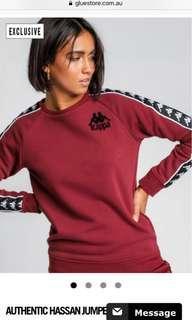Kappa maroon jumper
