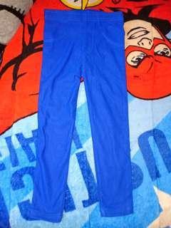 Legging jins biru 2-3thn