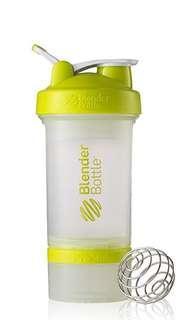 Blender Bottle ProStak Clear Green