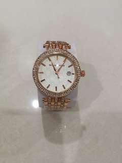 Pretty Classic Diamond Watch Michael K