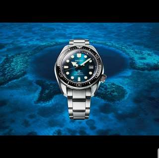 [SOLD OUT] SEIKO PROSPEX GREAT BLUE HOLE SPECIAL EDITION DIVER'S 200M SPB083J1 SBDC065