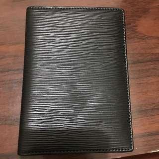 護照套 質感黑 可換物