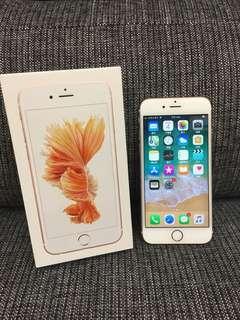 🚚 IPhone6s 16G 玫瑰金 二手機