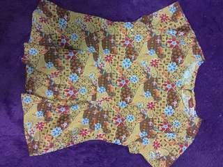 Baju batik sale stock