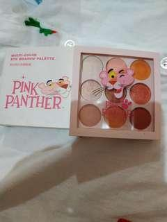 Miniso pink panther eyeshadow