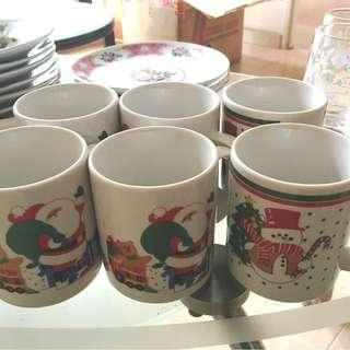 Christmas Cups with Handle and Others