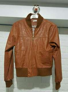Brown Synthetic Leather