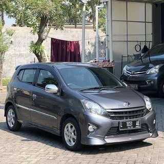 Agya TRD Automatic 2014 Grey