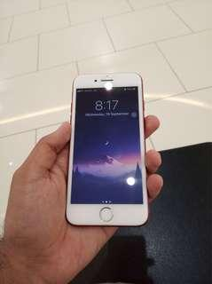 IPhone 7 128gb MY set Red limited edition